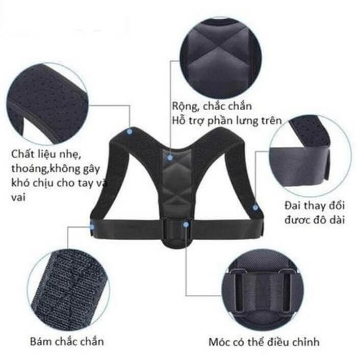 Đai gù lưng Posture Corrector chính hãng USA
