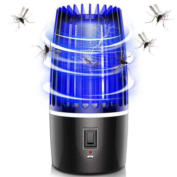 Đèn Bắt Muỗi Thông Minh Sạc Pin Nhật Bản